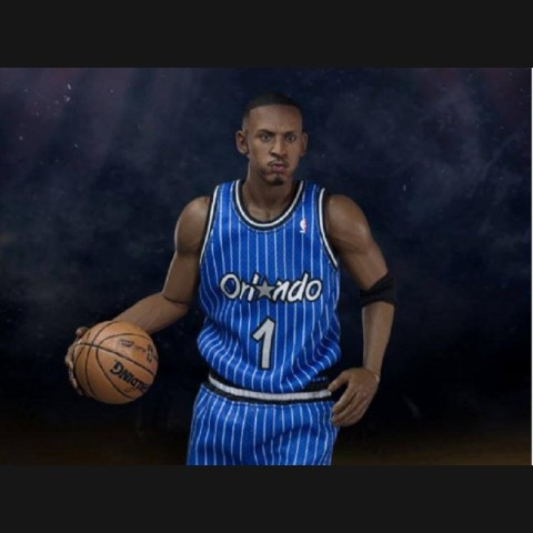 NBA Anfernee Hardaway 12 inch Blue Jersey Action Figure