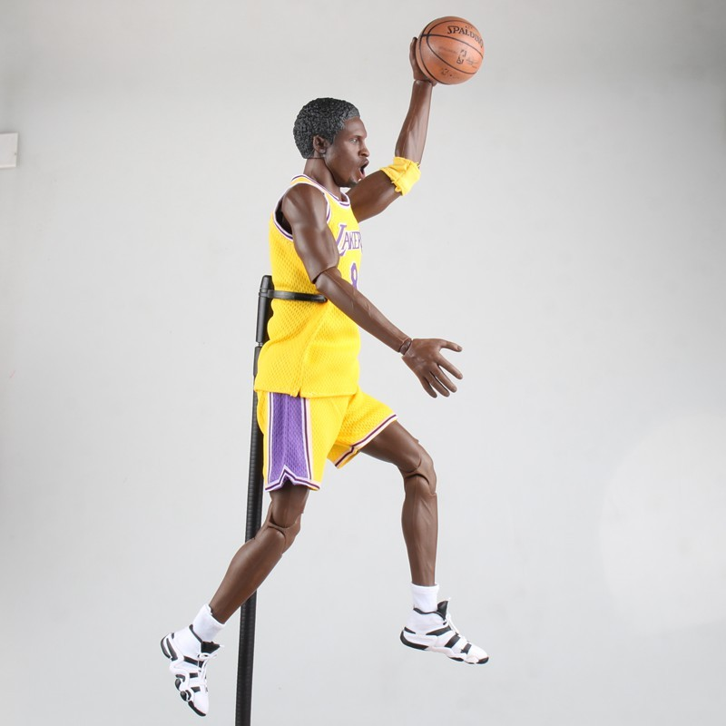 detailed pictures dcec4 d727d NBA Kobe Bryant 16 inch Yellow Jersey 1:6 Action Figure