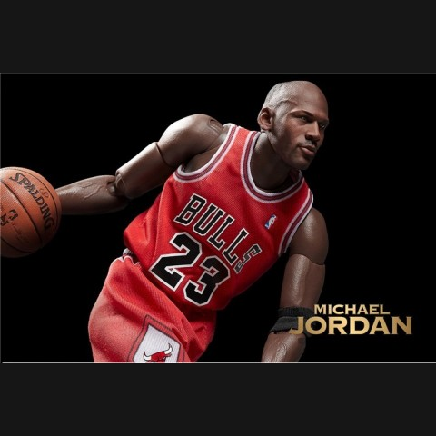 NBA Michael Jordan 16 inch Red Jersey 1:6 Action Figure