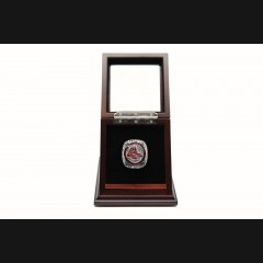MLB 2018 Boston Red Sox World Series Championship Replica Fan Ring with Wooden Display Case