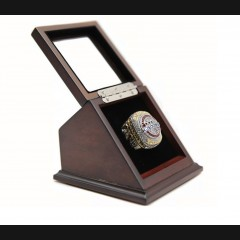 NHL 2018 Washington Capitals Stanley Cup Championship Replica Fan Ring with Wooden Display Case