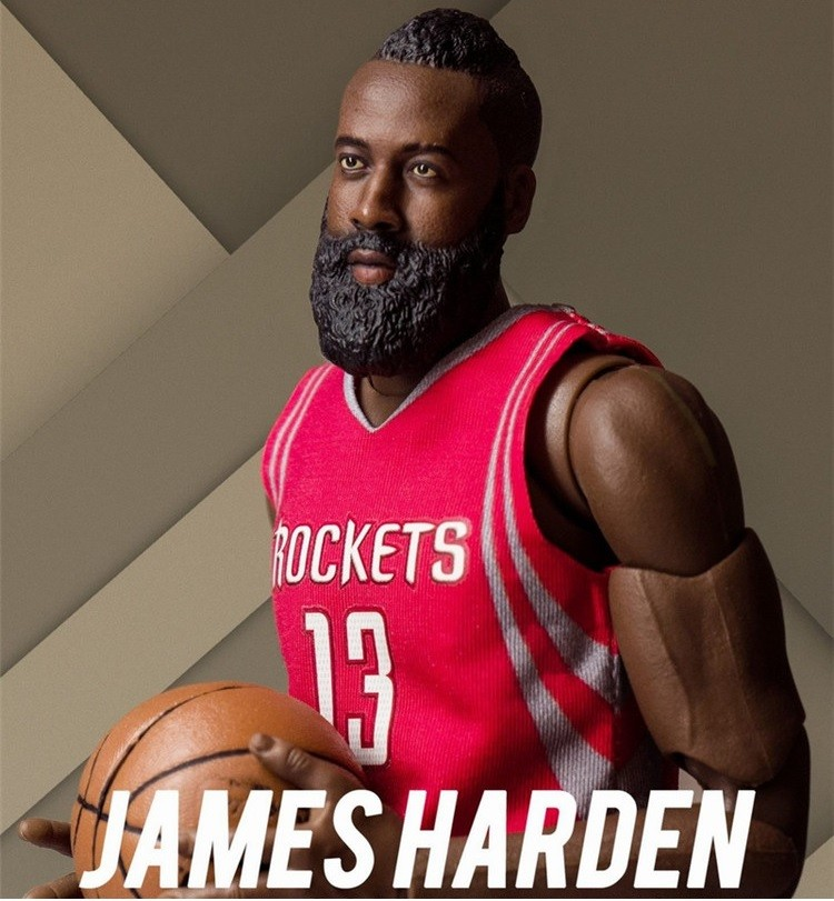 Nba2k19 James Harden: NBA James Harden 12 Inch Action Figure