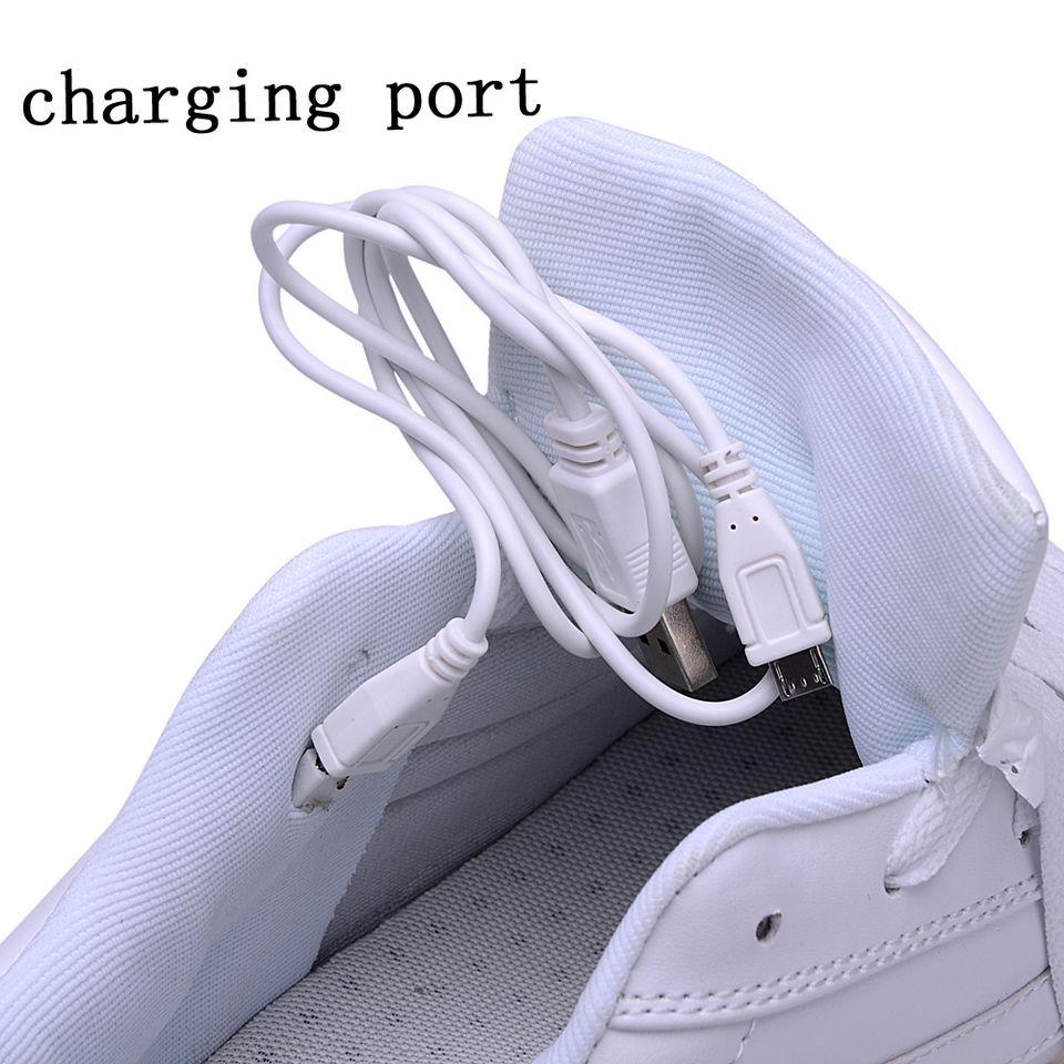 Women USB Charging LED Light Up Sport