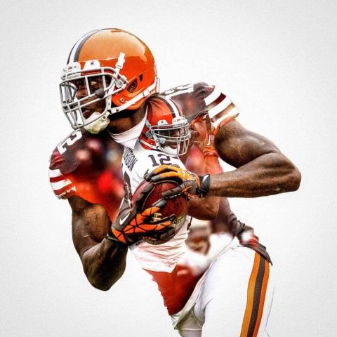 Cleveland Browns Josh Gordon Football Wall Posters with 6 Sizes Unframed