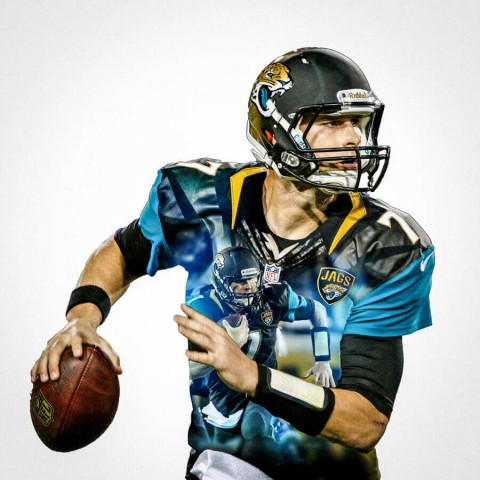 Jacksonville Jaguars Chad Henne Football Wall Posters with 6 Sizes Unframed