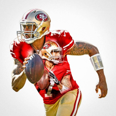 San Francisco 49Ers Colin Kaepernick Football Wall Posters with 6 Sizes Unframed
