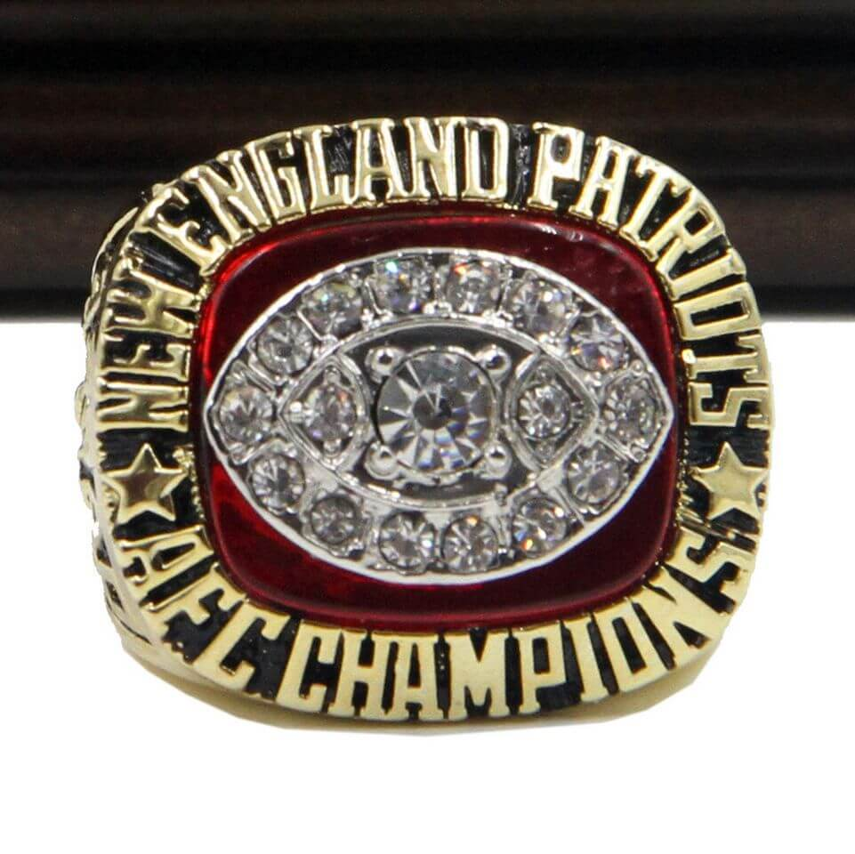 Afc 1985 New England Patriots Championship Replica Ring