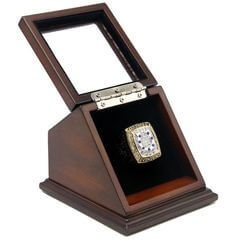 AFC 2009 Indianapolis Colts Championship Replica Fan Ring with Wooden Display Case