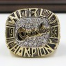 MLB 1983 Baltimore Orioles World Series Championship Replica Fan Ring with Wooden Display Case