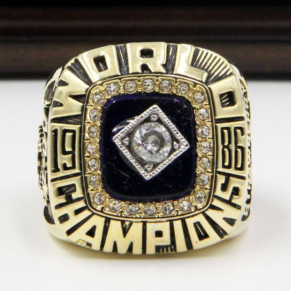 MLB 1986 New York Mets World Series Championship Replica Ring
