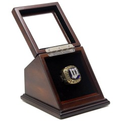 MLB 1987 Minnesota Twins World Series Championship Replica Fan Ring with Wooden Display Case