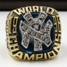 MLB 1996 New York Yankees World Series Championship Replica Fan Ring with Wooden Display Case