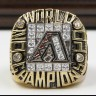 MLB 2001 Arizona Diamondbacks World Series Championship Replica Fan Ring with Wooden Display Case