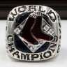 MLB 2007 Boston Red Sox World Series Championship Replica Fan Ring with Wooden Display Case