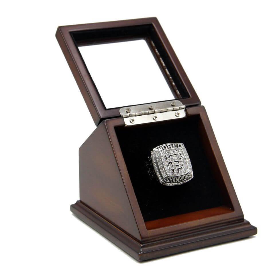 Mlb 2012 san francisco giants world series championship for Ring case