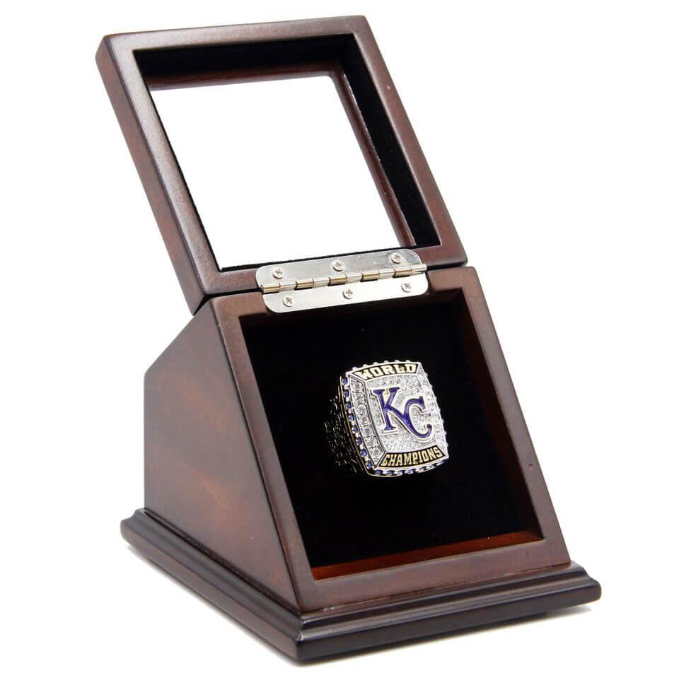 Mlb 2015 kansas city royals world series championship for Ring case