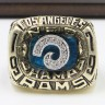 NFC 1979 Los Angeles Rams Championship Replica Fan Ring with Wooden Display Case