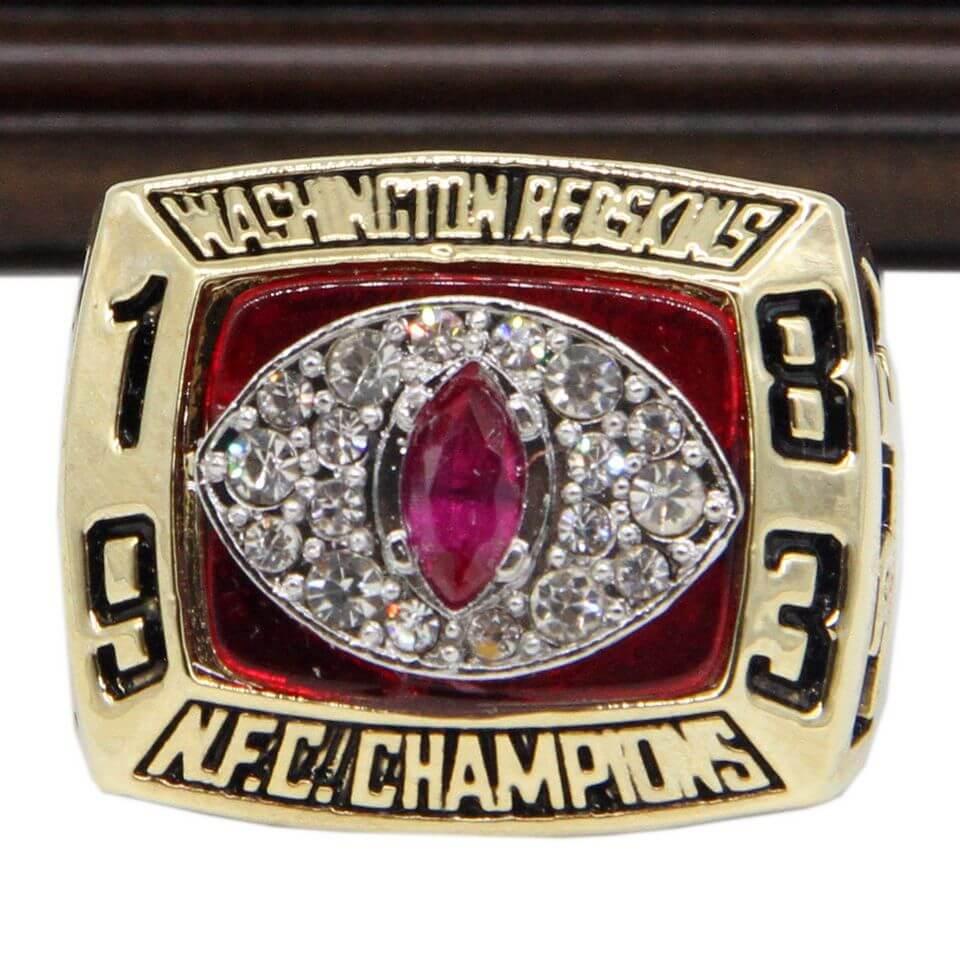Nfc 1983 Washington Redskins Championship Replica Ring