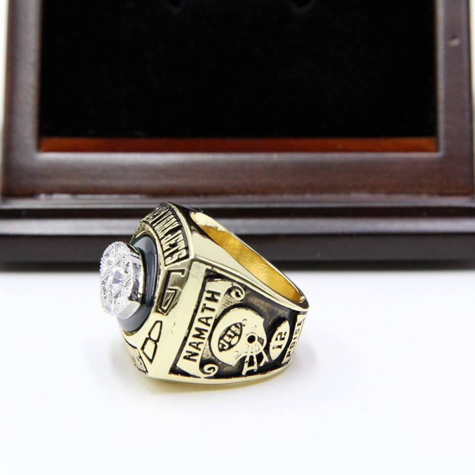 NFL 1968 Super Bowl III New York Jets Championship Replica Ring