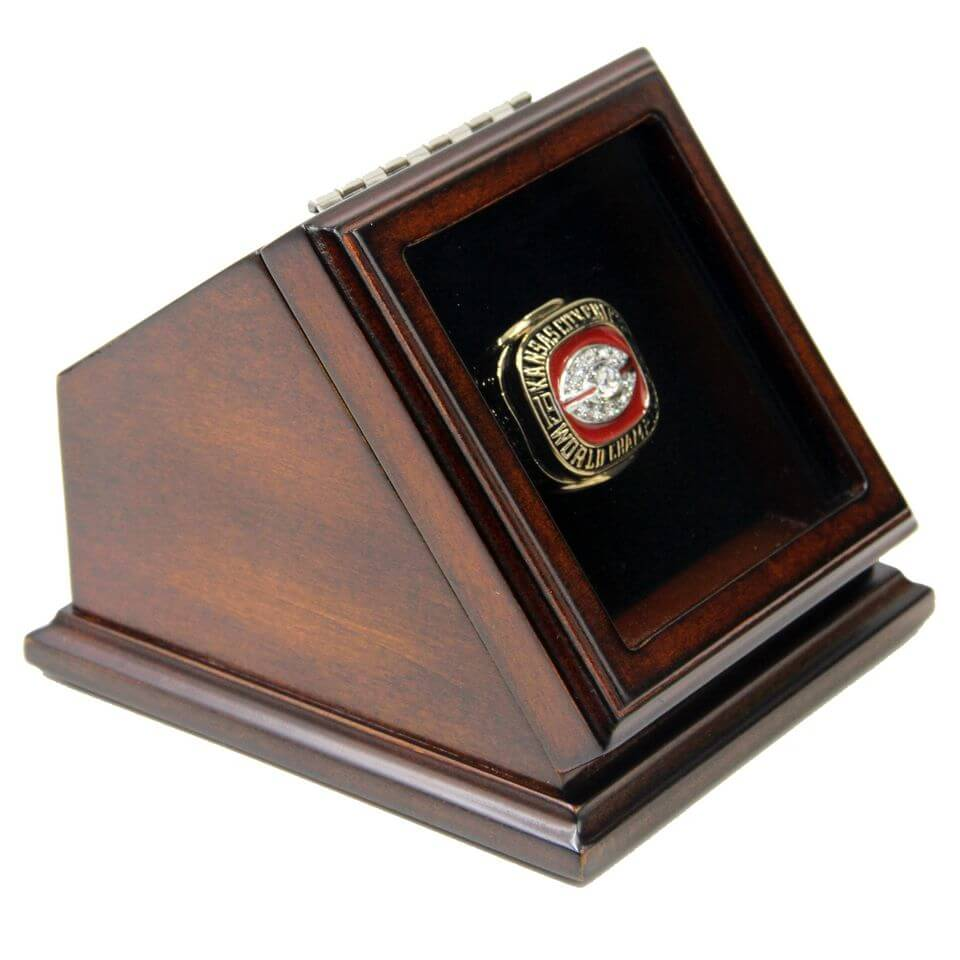 Nfl 1969 super bowl iv kansas city chiefs championship for Ring case