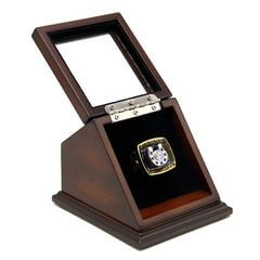 NFL 1970 Super Bowl V Baltimore Colts Championship Replica Fan Ring with Wooden Display Case