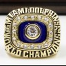 NFL 1972 Super Bowl VII Miami Dolphins Championship Replica Fan Ring with Wooden Display Case