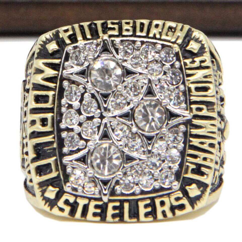 Nfl 1978 Super Bowl Xiii Pittsburgh Steelers Championship Replica Ring