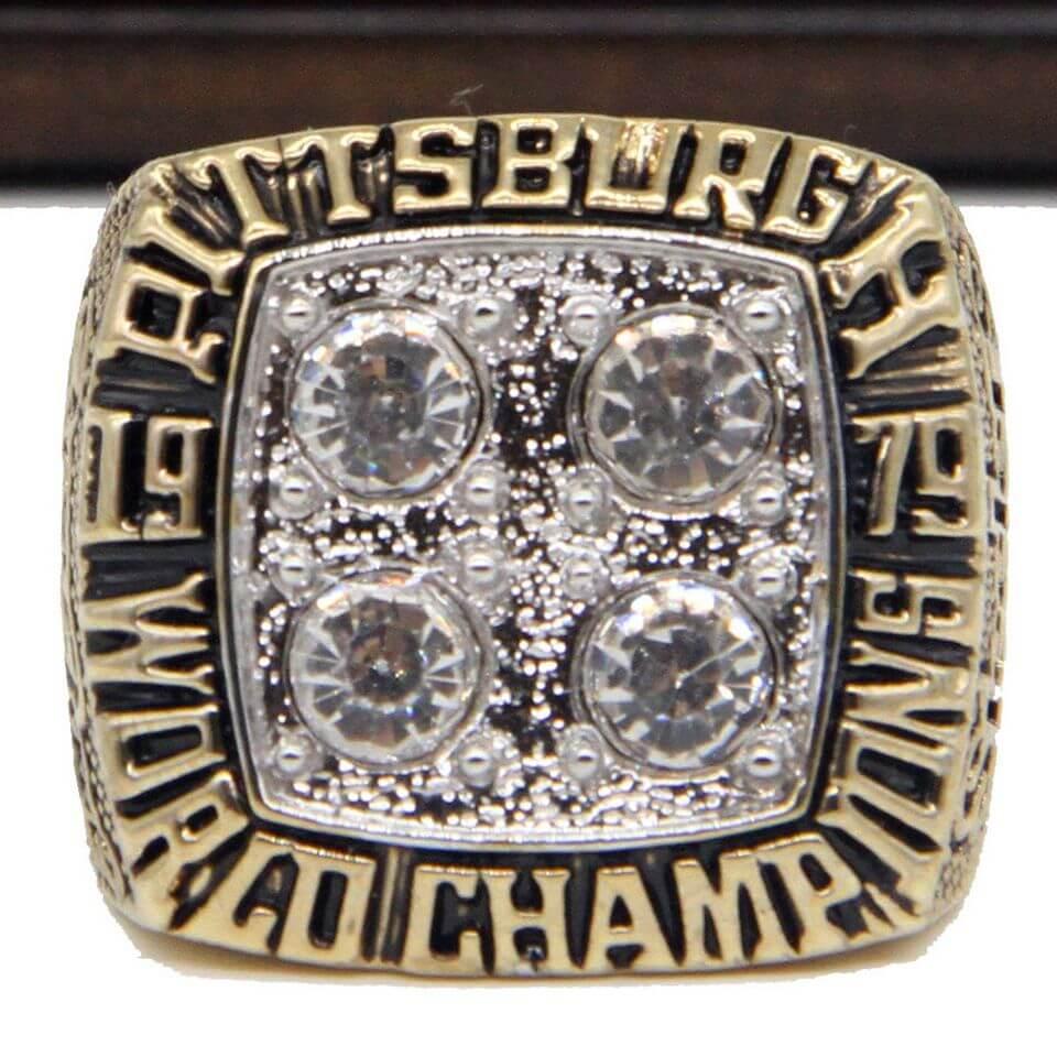Nfl 1979 Super Bowl Xiv Pittsburgh Steelers Championship Replica Ring