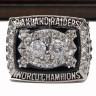 NFL 1980 Super Bowl XV Los Angeles/Oakland Raiders Championship Replica Fan Ring with Wooden Display Case