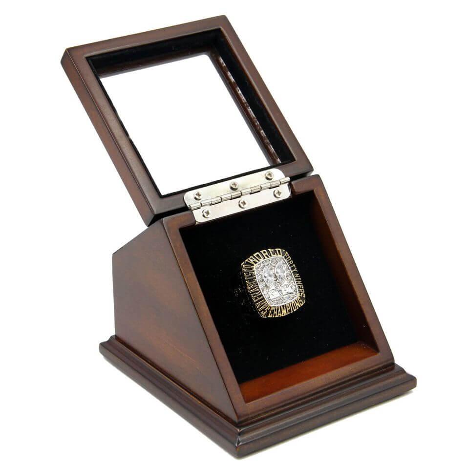 Nfl 1984 super bowl xix san francisco 49ers championship for Ring case