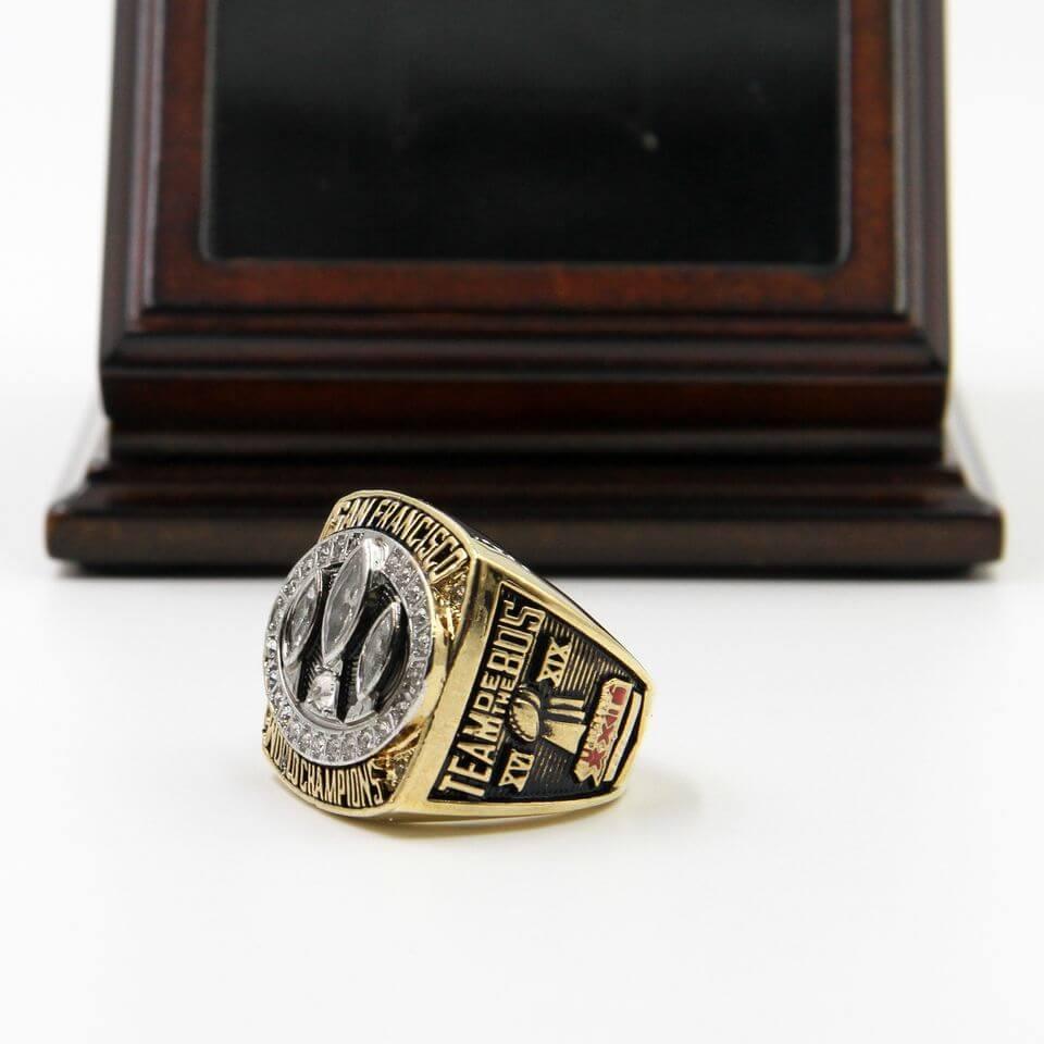 New NFL 1988 Super Bowl XXIII San Francisco 49Ers Championship Replica Ring  supplier