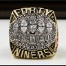 NFL 1994 Super Bowl XXIX San Francisco 49Ers Championship Replica Fan Ring with Wooden Display Case