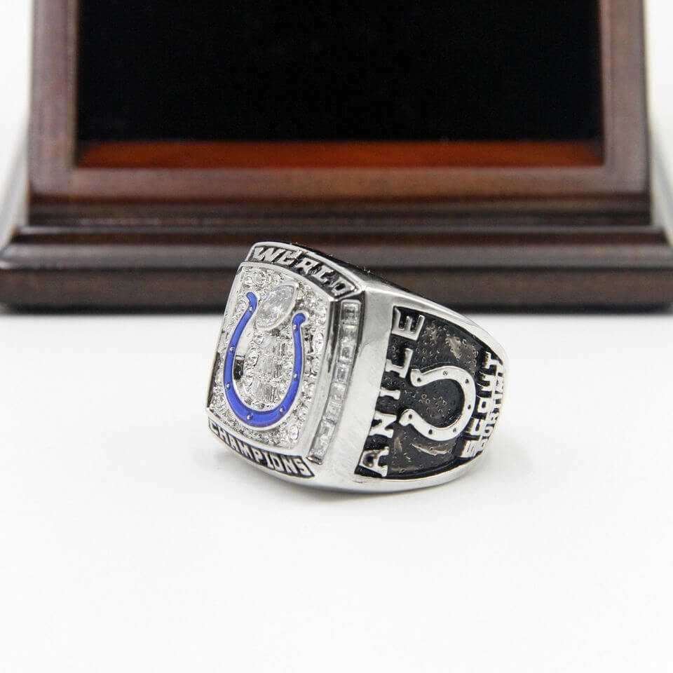 NFL 2006 Super Bowl XLI Indianapolis Colts Championship Replica Ring