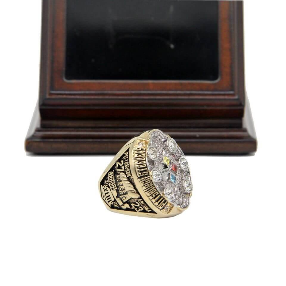 Nfl 2008 Super Bowl Xliii Pittsburgh Steelers Championship Replica