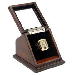 NHL 1993 Montreal Canadiens Stanley Cup Championship Replica Fan Ring with Wooden Display Case