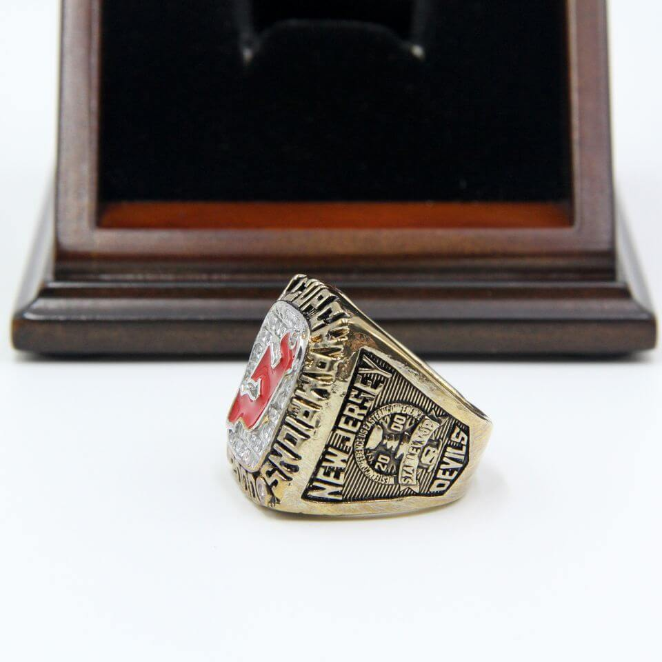 new style 6579b 6a1f4 NHL 2000 New Jersey Devils Stanley Cup Championship Replica Ring