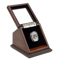 NHL 2012 Los Angeles Kings Stanley Cup Championship Replica Fan Ring with Wooden Display Case